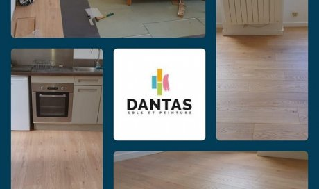 Dantas Sols & Peintures Pessac - Entreprise de pose de revêtement de sol